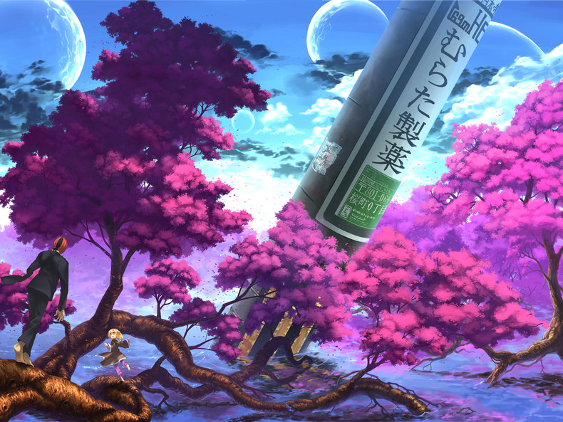 Cherry Blossom Wallpaper Anime Cherry blossom wallpaper anime 790x593