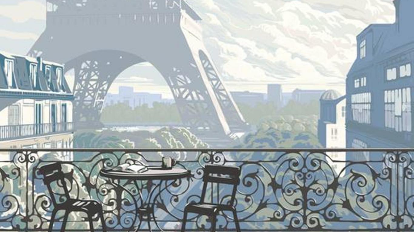 Paris In Winter Wallpaper