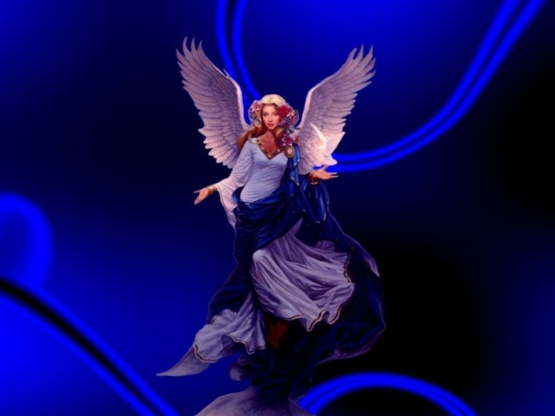 Beautiful Angel by Jonathon Earl Bowser JonathonArtcom 800x600