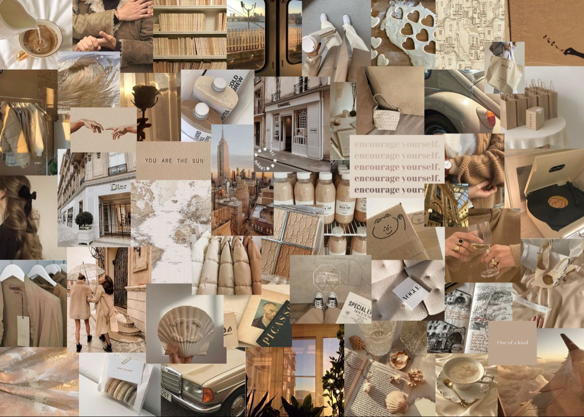 Custom Aesthetic Collage Wallpaper Custom Aesthetic Collage 1200x858