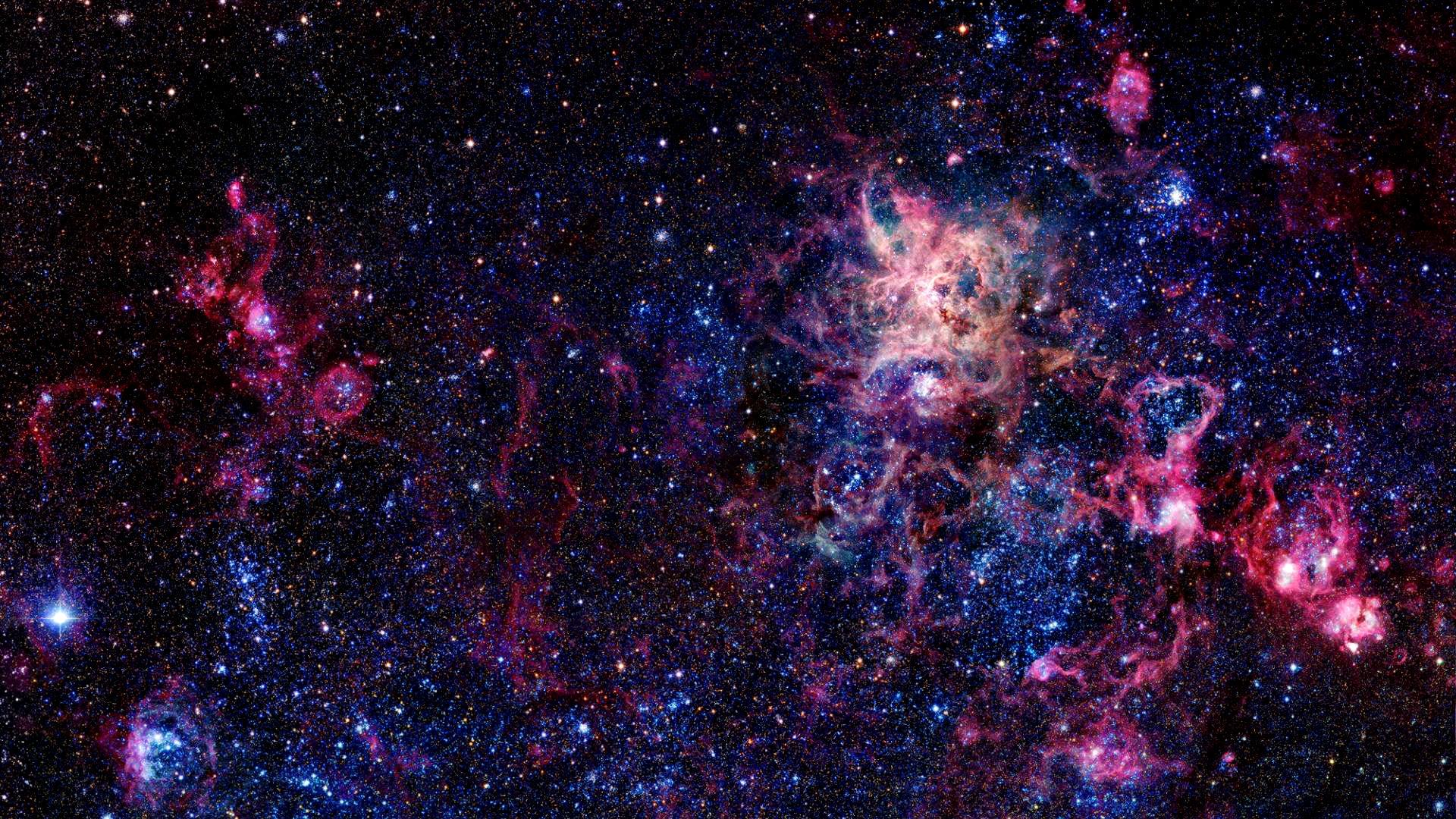 Colorful nebula wallpaper Wallpaper Wide HD 1920x1080