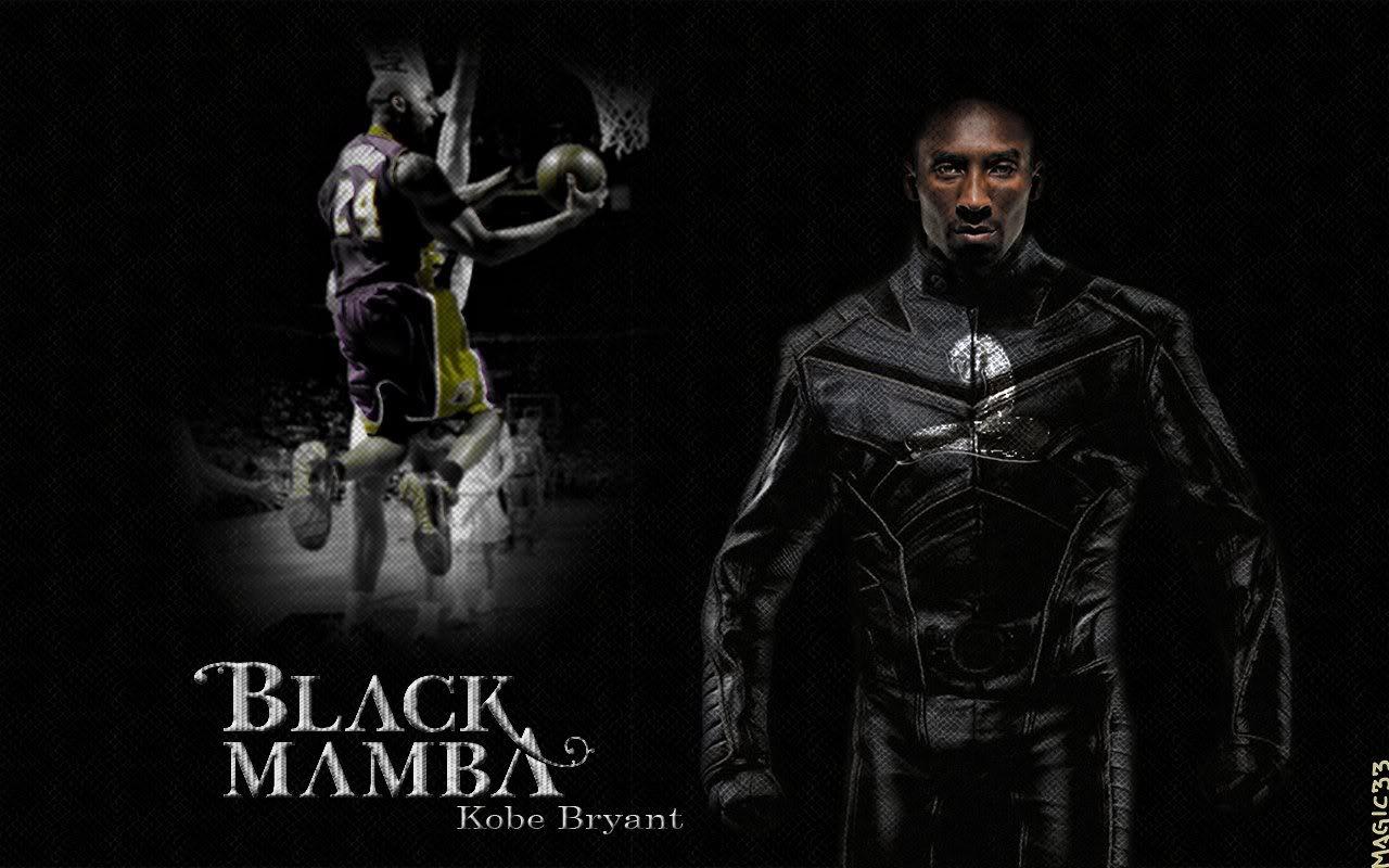 Free Download Magic33 Wallpapers Kobe Bryant As The Black Mamba