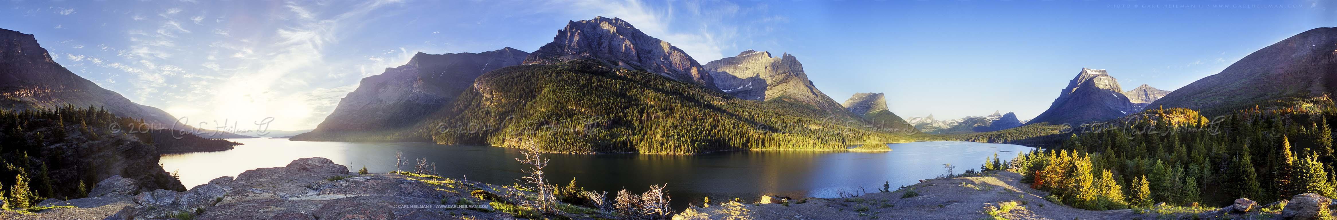 Park Montana National Parks nature photography panoramic screensaver 4665x768
