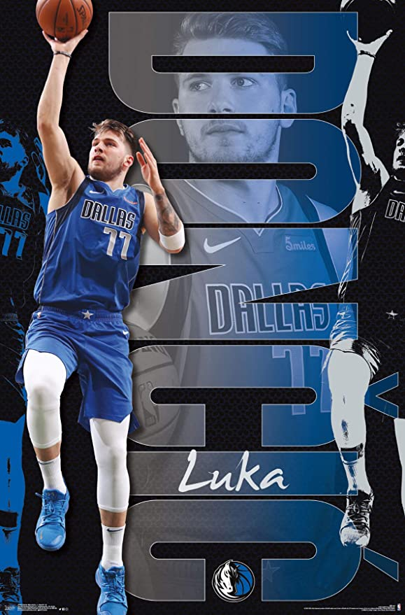 Amazoncom Trends International NBA Dallas Mavericks   Luka 579x879