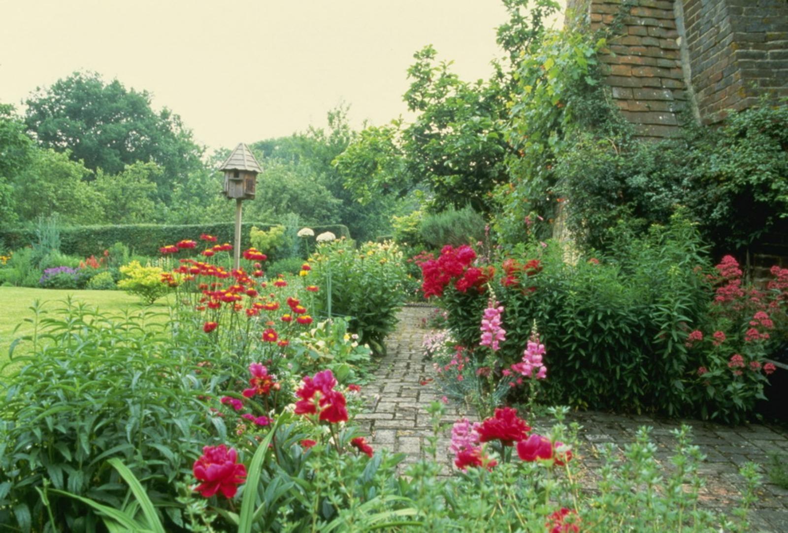 Country gardens wallpaper - English Garden Wallpaper Forwallpaper Com