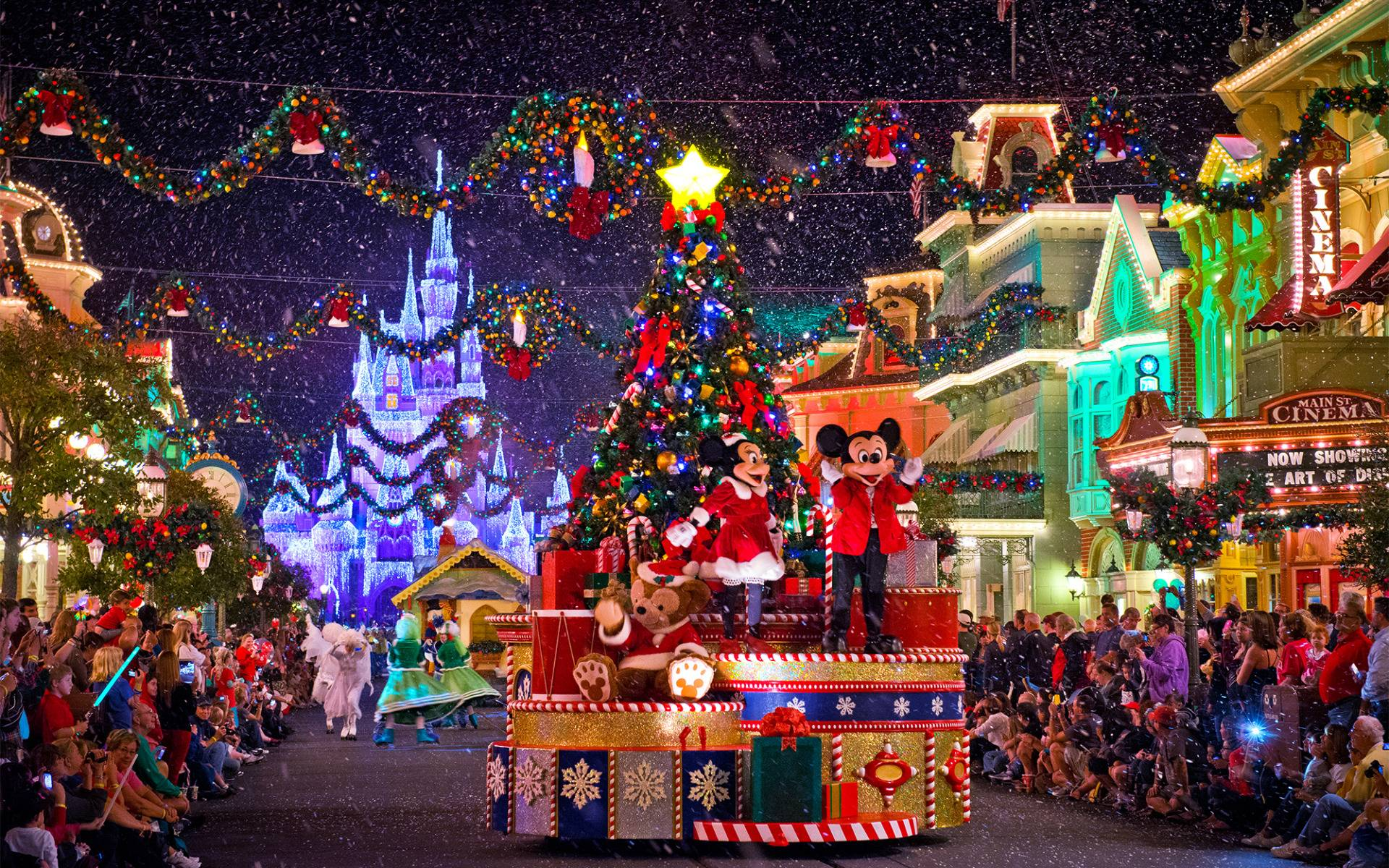 Disney Parks And ABC Celebrate The Holidays With Two Holiday 1920x1200