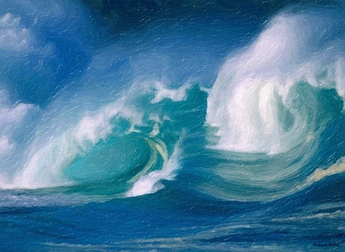 Beautiful  Wallpaper nature water landscape beautiful ocean waves 700x512