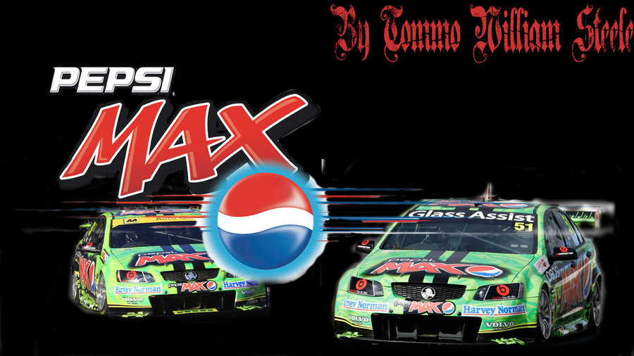 PepsiMAX V8 Supercars Wallpaper by Tomination92 900x506