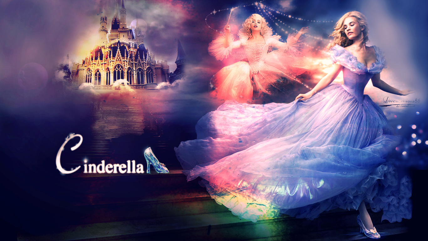 Free Download Cinderella Disney By Dreamvisions86 Fan Art
