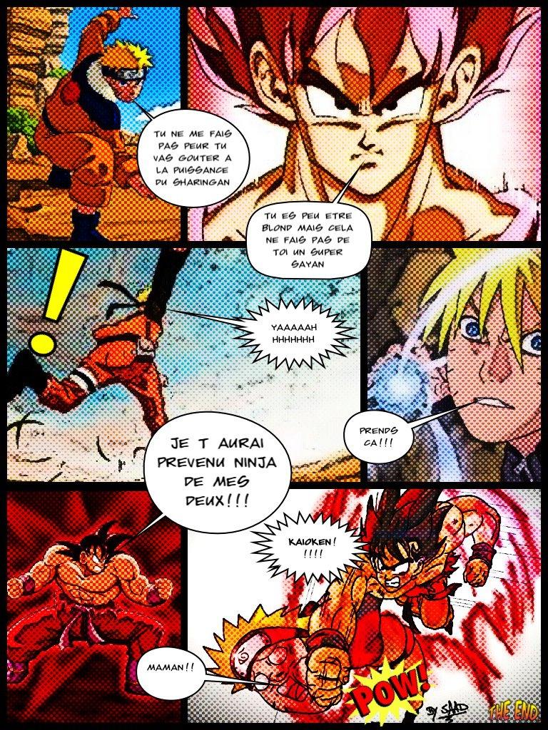 Goku Vs Naruto Wallpaper Goku vs naruto part 2 by 768x1024