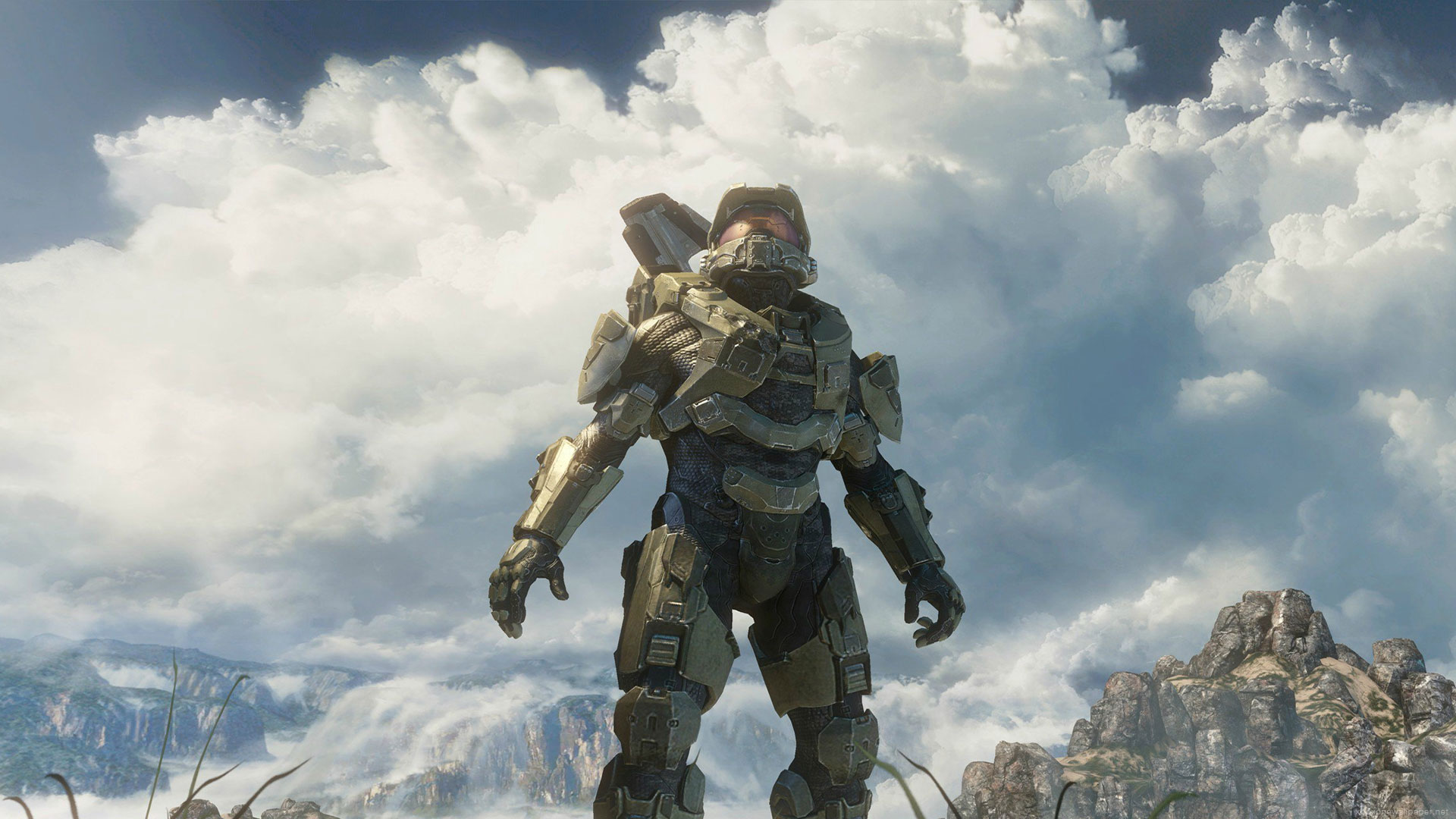 Halo 4 Master Chief Wallpaper Game HD Wallpaper 1080p 1920x1080