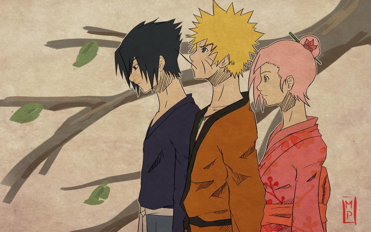 Sasuke   Naruto   Sakura   Naruto Shippuuden Wallpaper 24742877 1280x800