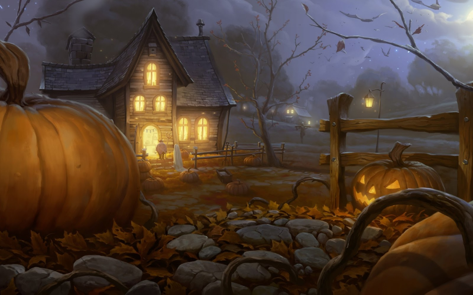 All Wallpapers Happy Halloween hd Wallpapers 2013 1600x1000