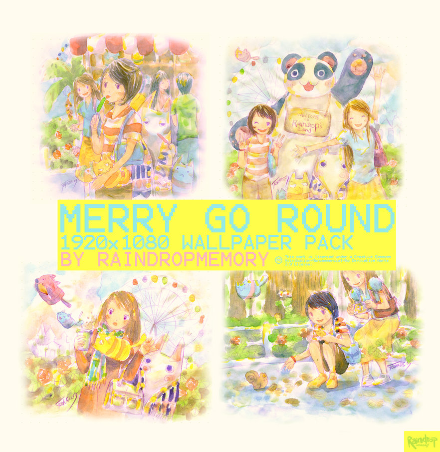 Merry go Round Wallpaper Pack by Raindropmemory 882x905