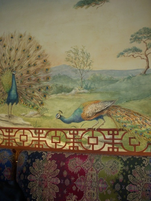 Hand Painted Mural Wallpaper DelightChinoiserie Murals Pinterest 500x667