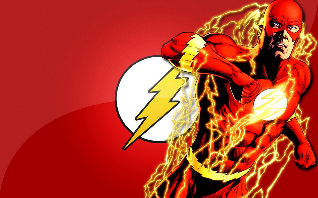 flash superhero wallpaper 1280x800