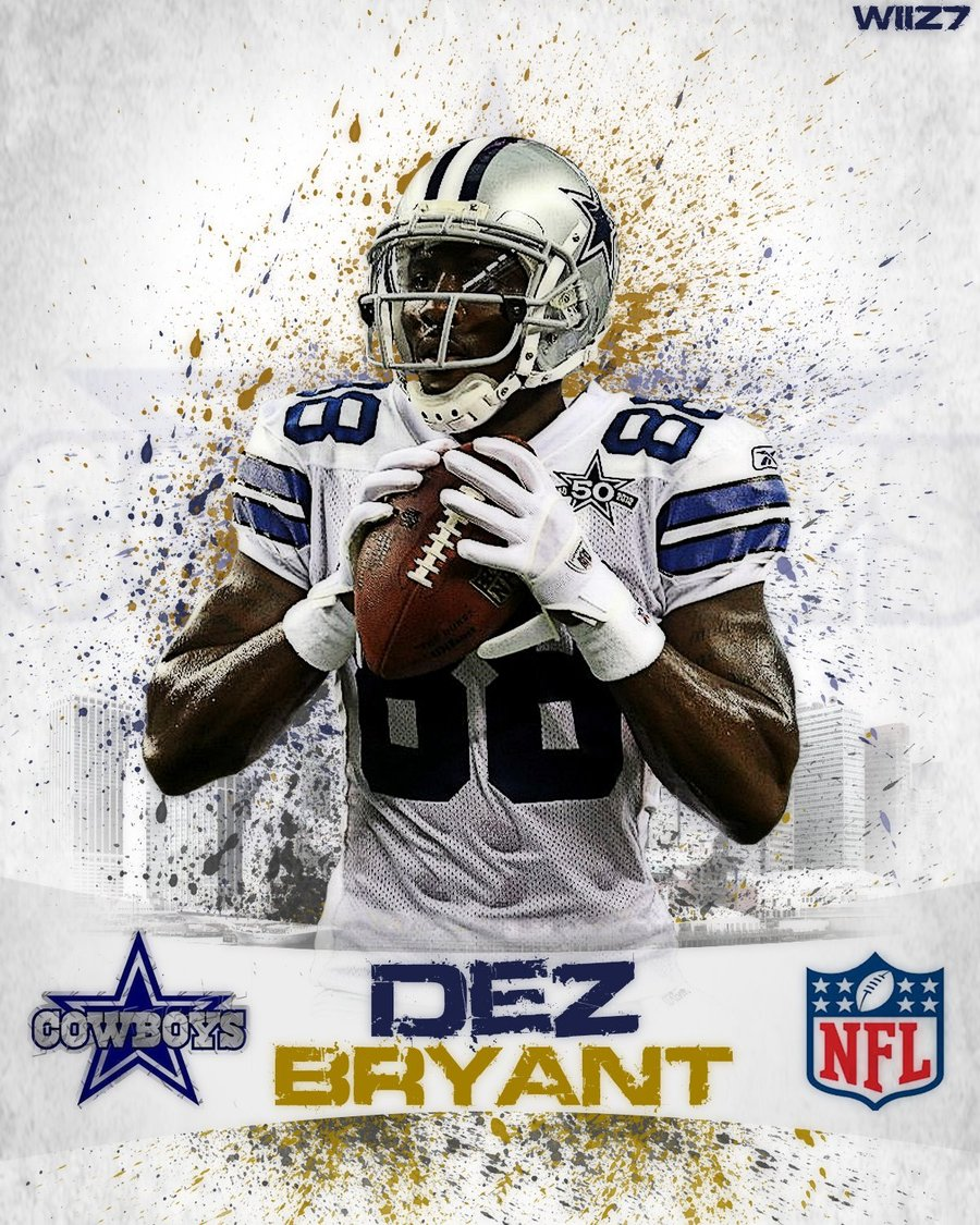 Free Download Dez Bryant Colored By Dawiiz 900x1125 For Your