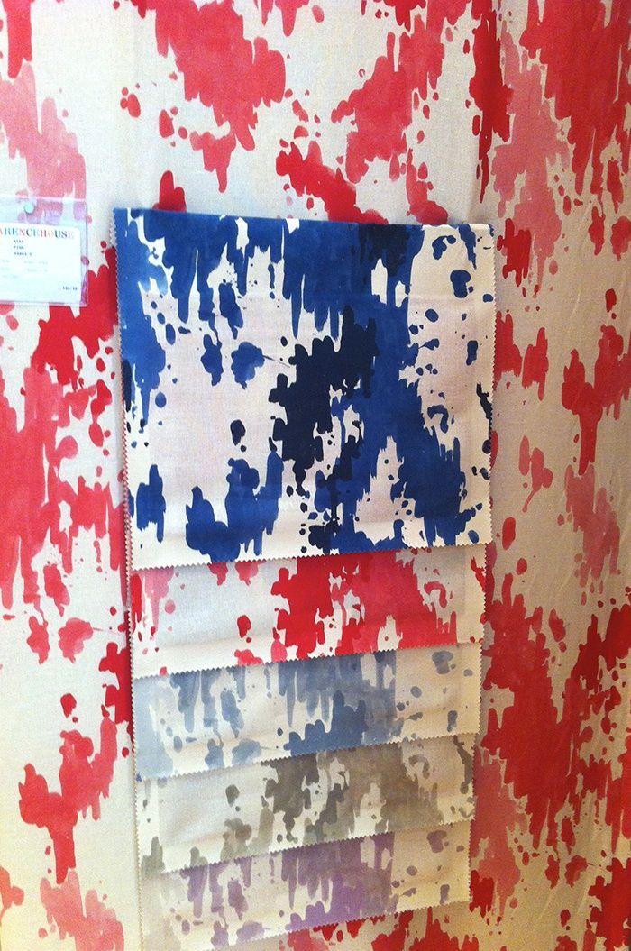 Clarence House Kiki Fabric Powder room Pinterest 700x1055