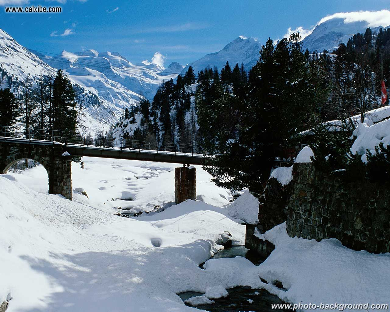 ski mountain wallpaper   weddingdressincom 1280x1024