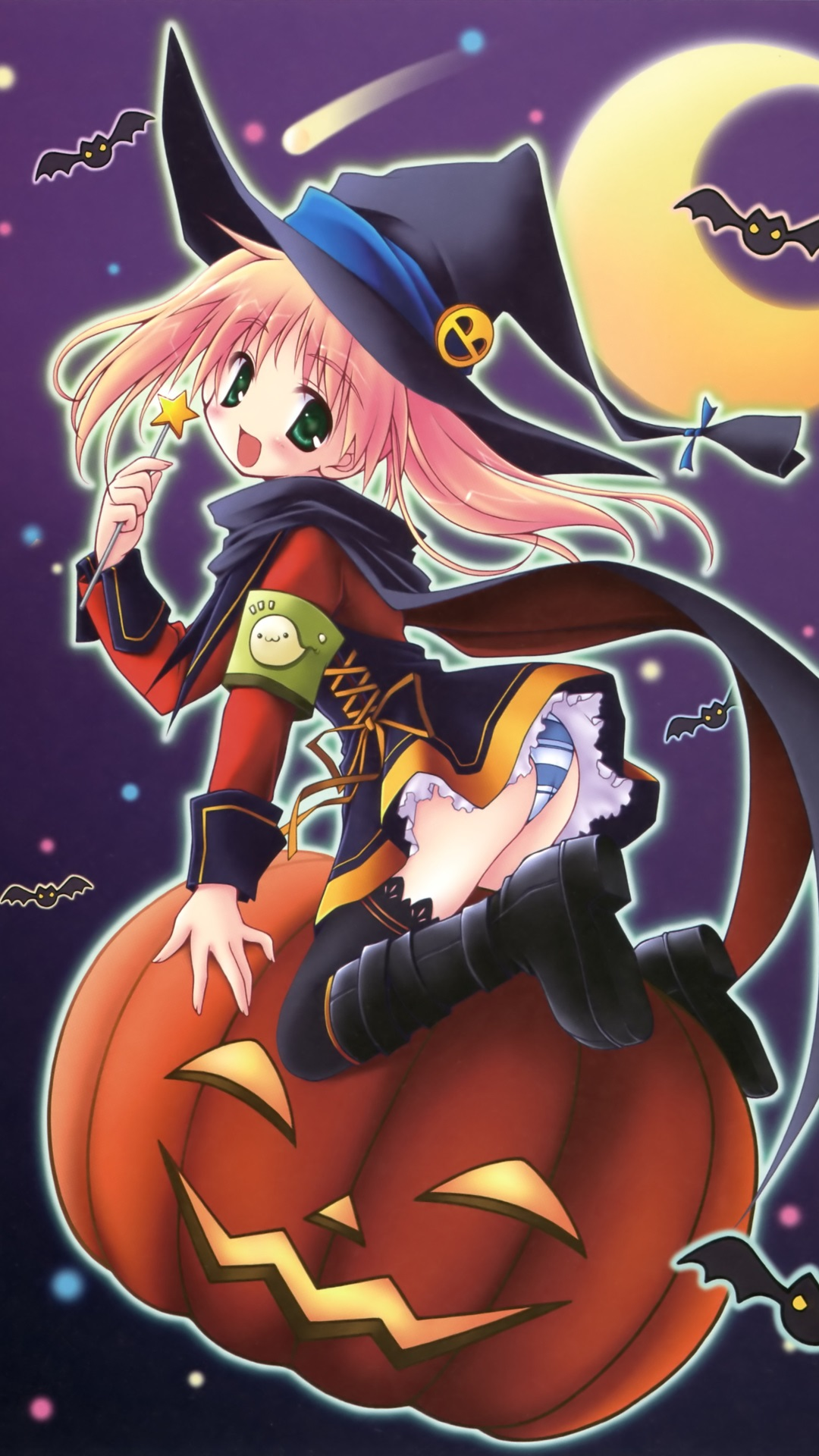 Anime Halloween 2013Magic THL W9 wallpaper1080x1920 1 1080x1920