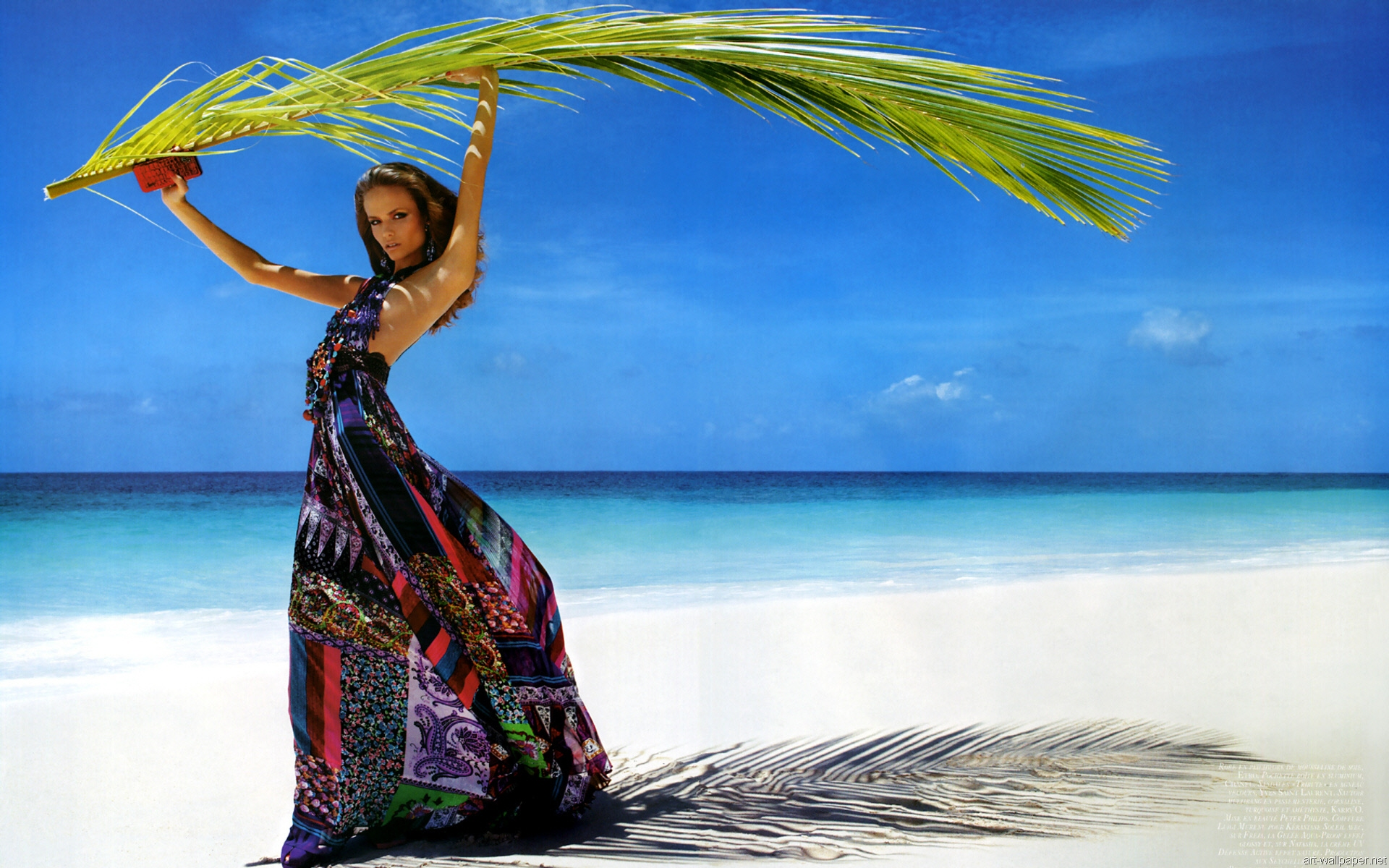 Hd widescreen girls wallpapers wallpapersafari - Beach girl wallpaper hd ...