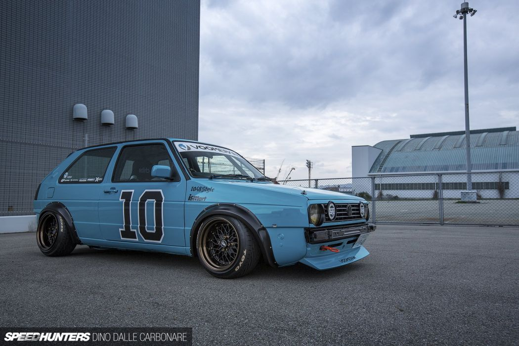 Volkswagen Golf Mk2 tuning race racing wallpaper 1920x1280 1050x700