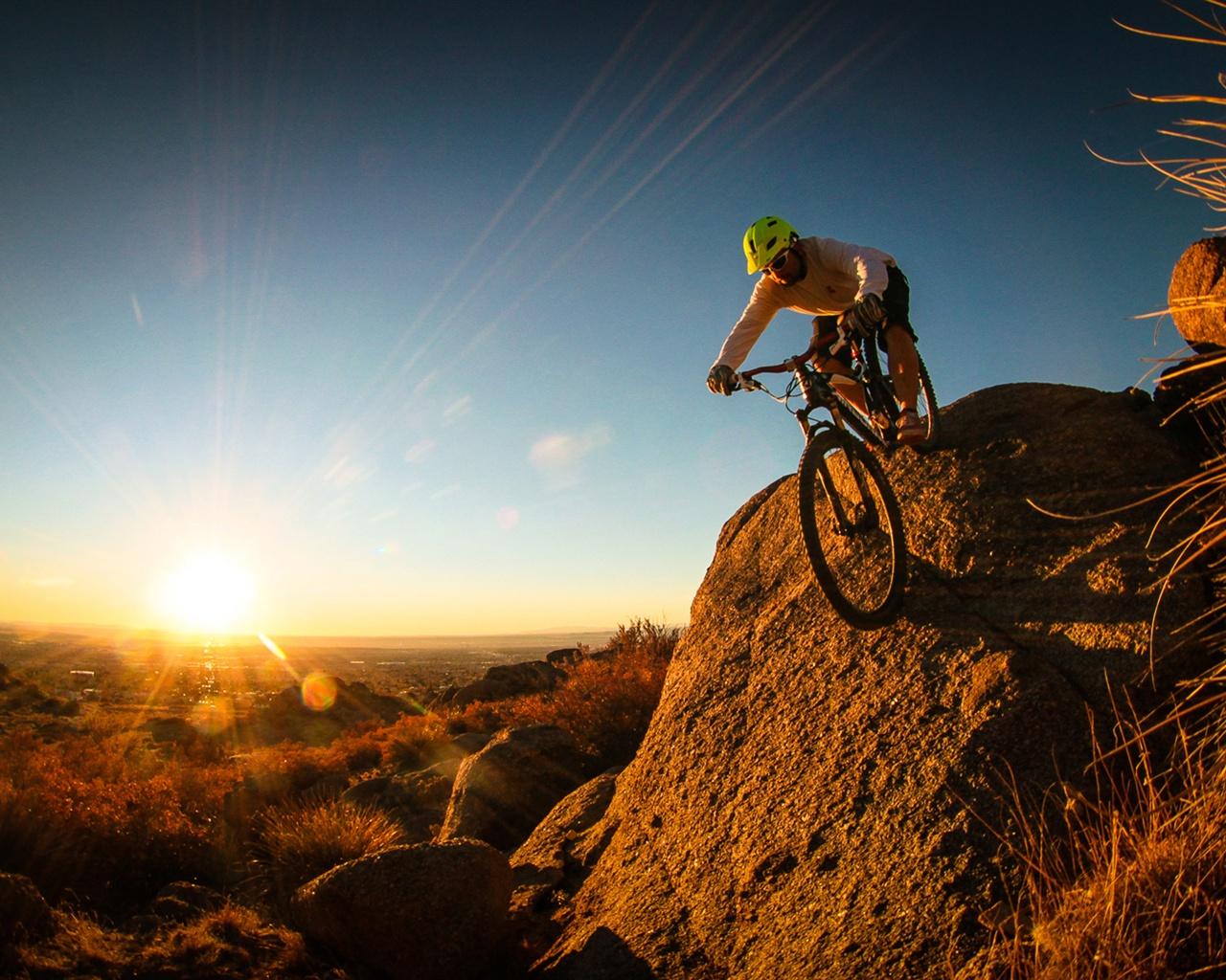 Extreme sports mountain bike 1280x1024jpg 1280x1024