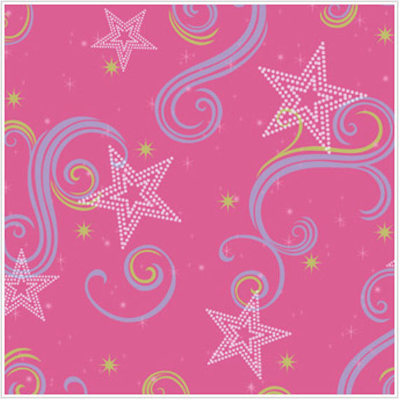 Star Glitter Pink Purple and Green Wallpaper   The Frog and the 570x570