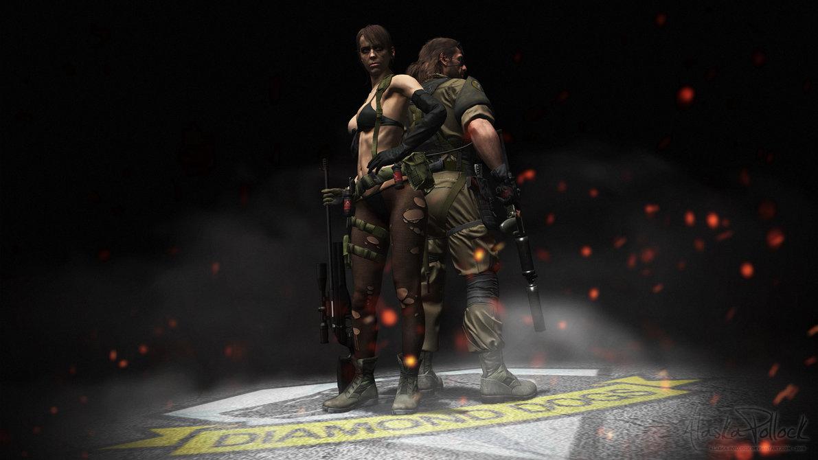 Metal Gear Solid V   Diamond Dogs by Alaska Pollock 1191x670