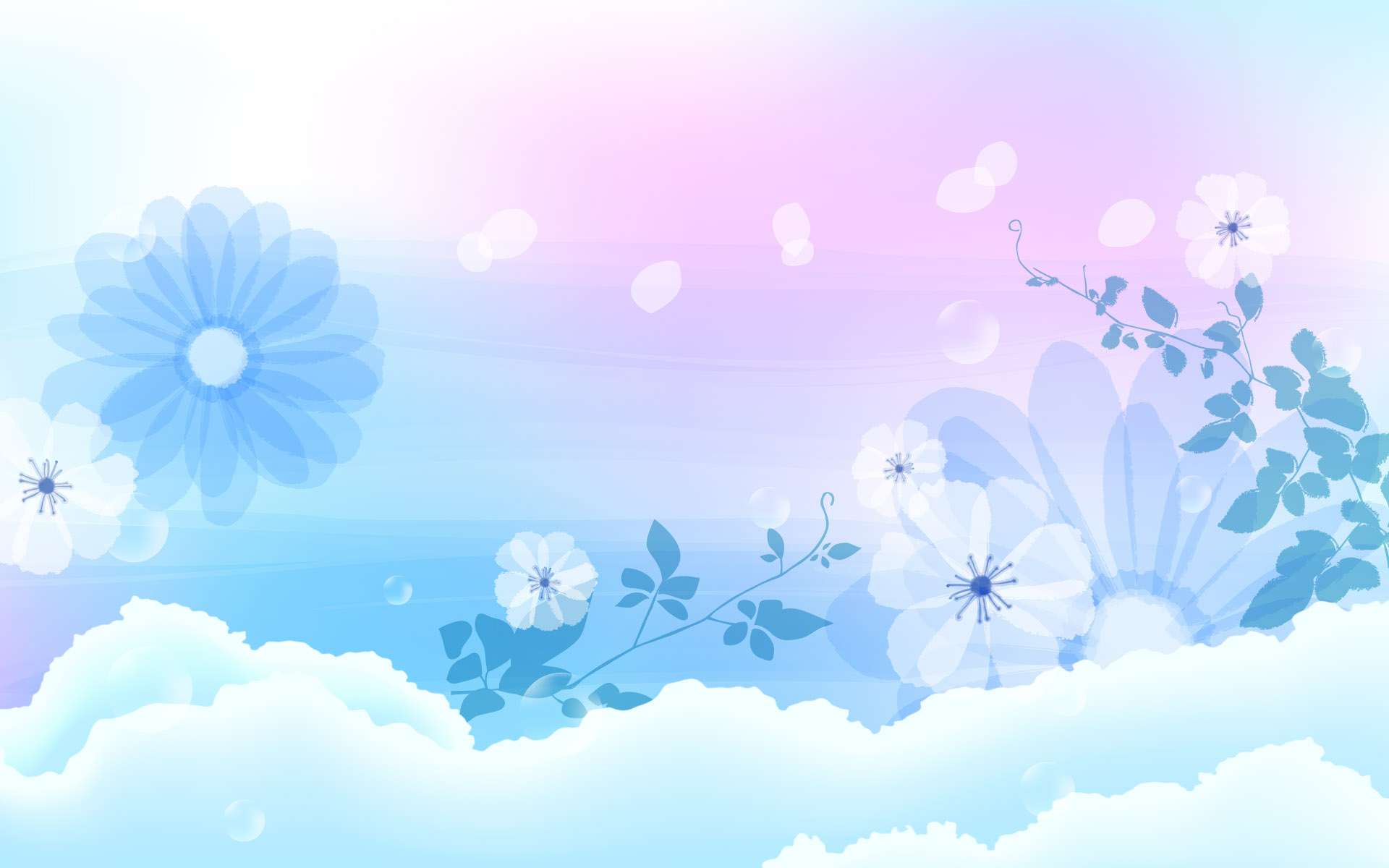 the colors of the wallpaper fit so well light blue and white the world 1920x1200