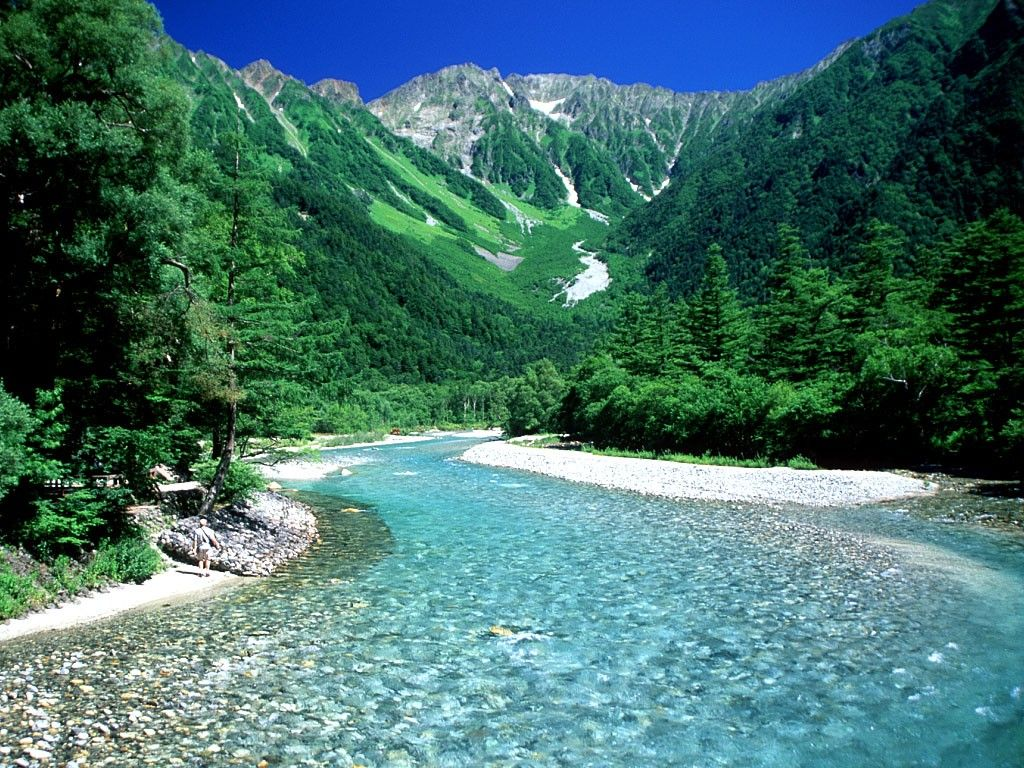 Japan Mountain River Wallpapers   Top Japan Mountain River 1024x768
