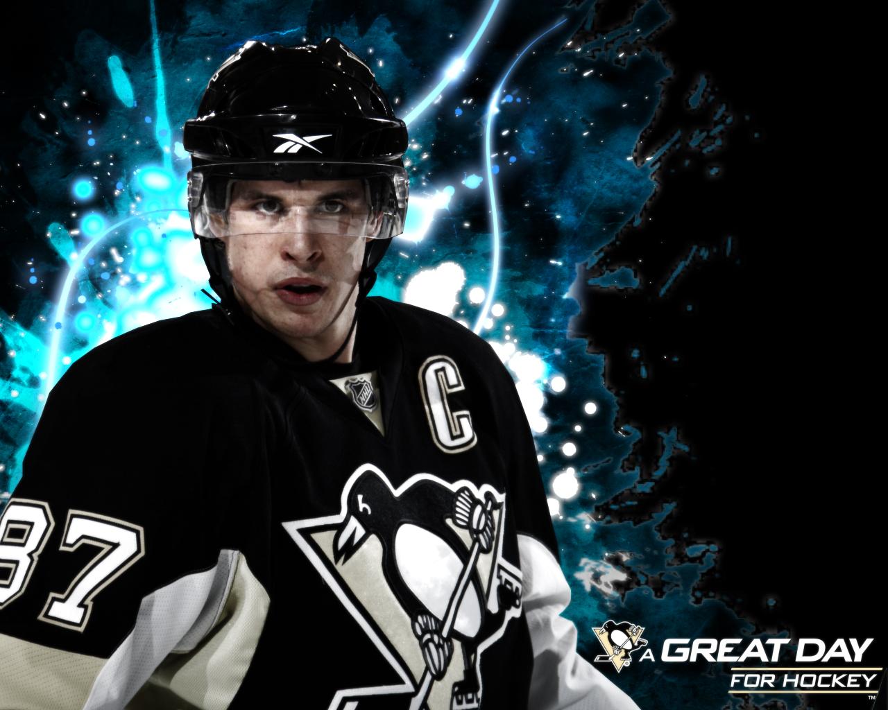 New Sports Stars Sidney Crosby Wallpaper 2012 1280x1024