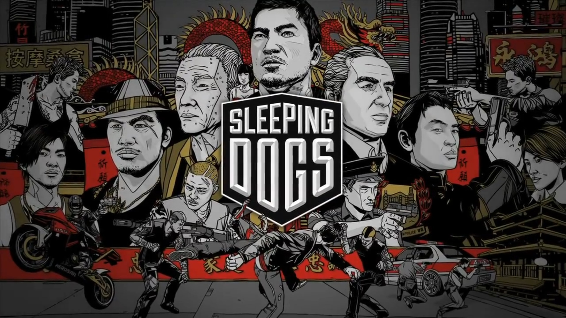 Sleeping Dogs Video Game Wallpapers   1920x1080   630689 1920x1080