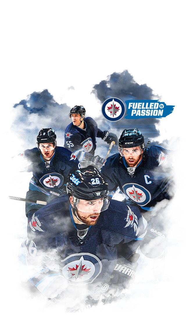 Digital Fan Downloads   Winnipeg Jets   Fan Zone 640x1136