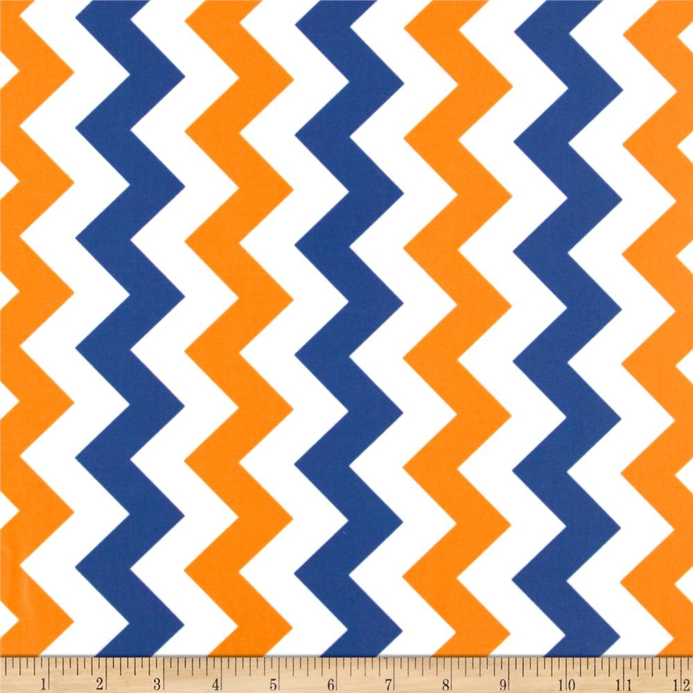 Riley Blake Laminate Medium Chevron OrangeBlue 1000x1000
