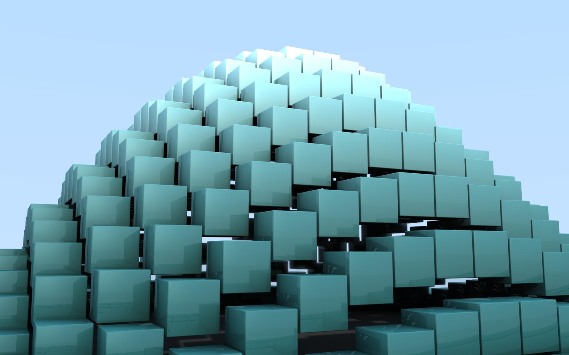 3D Cubes Wallpaper - WallpaperSafari