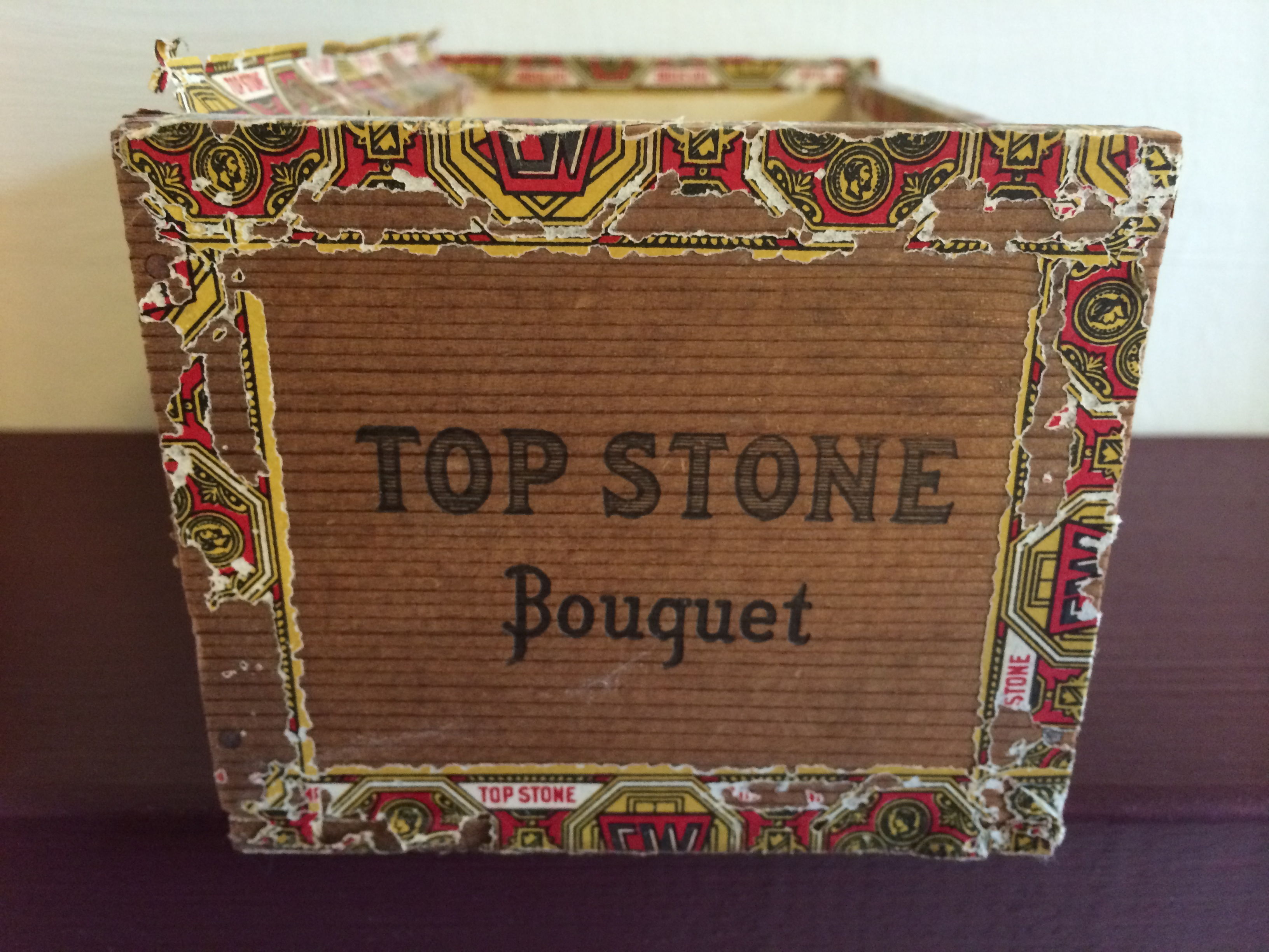 Home Accessory Beckys Cuban Cigar Box From Williamsburg Flea   The 3264x2448