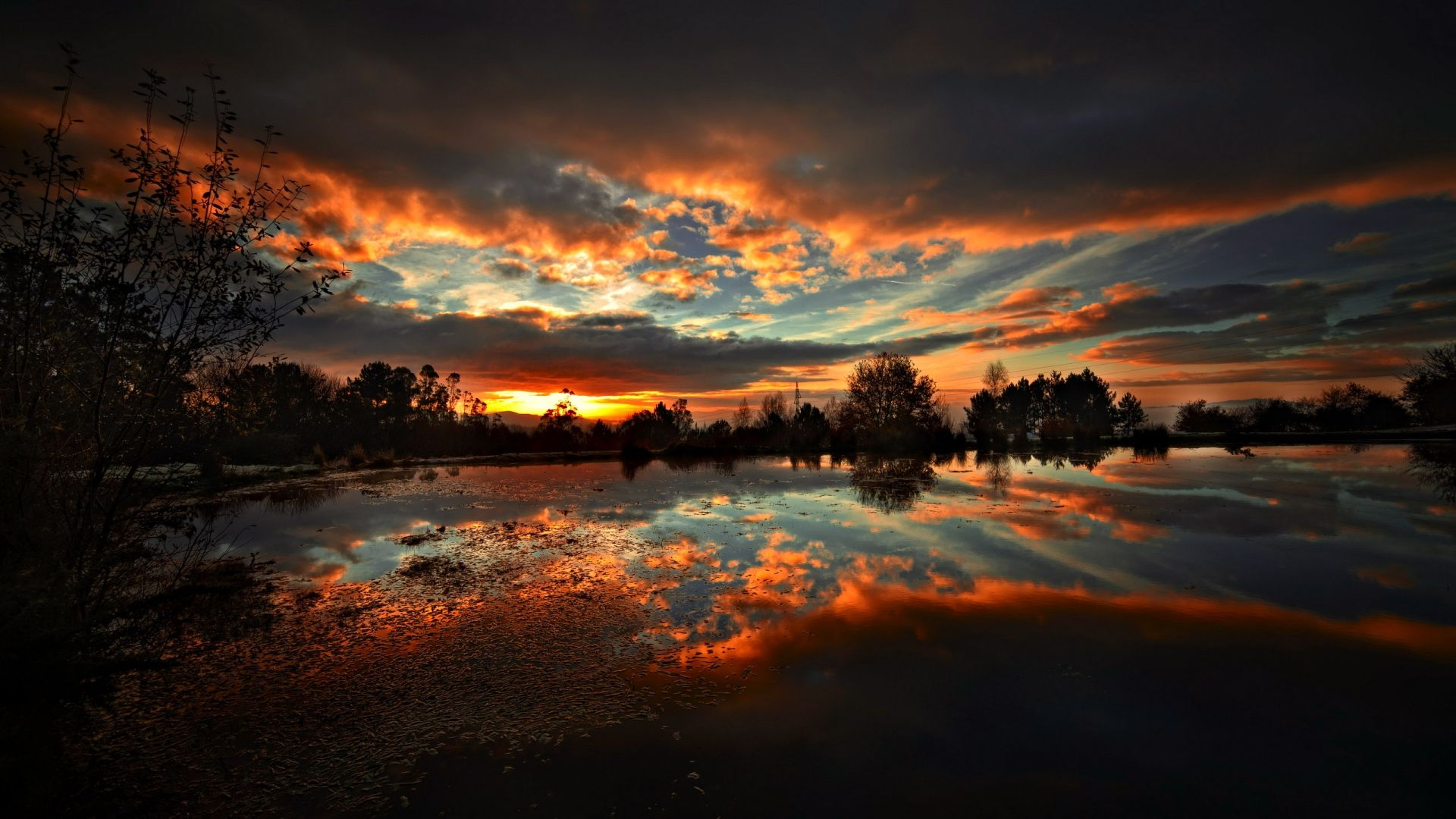 26 Sunset Hd Wallpaper 1080p On Wallpapersafari