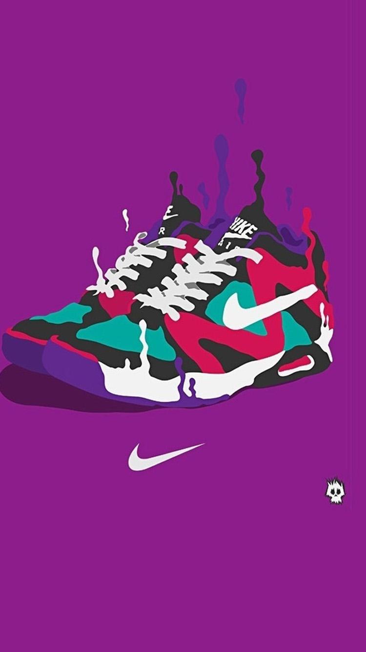 Nike Basketball Shoes Black Background