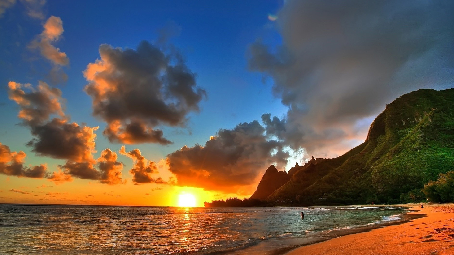 Hd wallpaper beach - Beautiful Scenery Summer Evening Beach Wallpapers Beach Pictures And