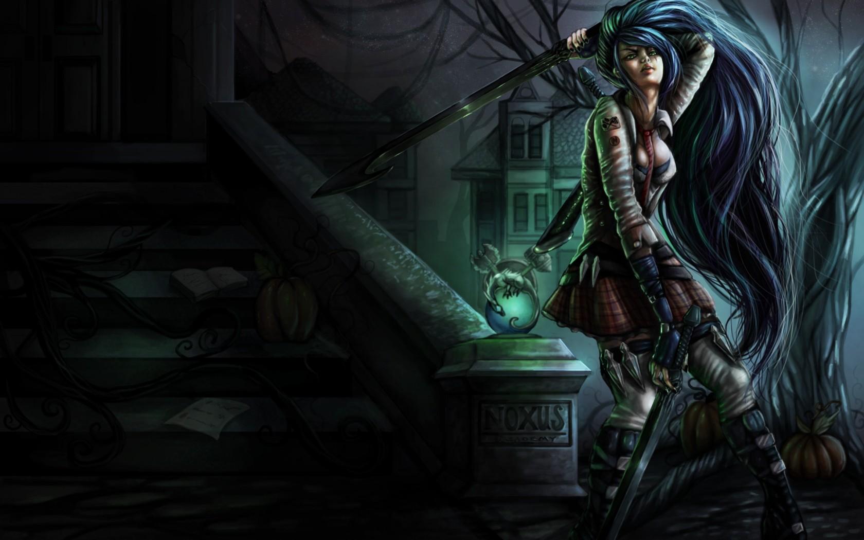 Free Download Weapons Fantasy Art Sexy Babes Magic Dark