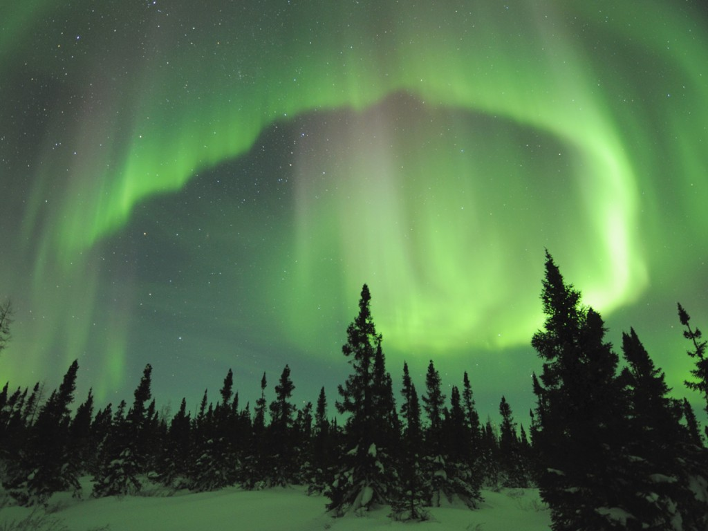 Aurora Borealis Manitoba Canada 1024x768   Wallpaper   ImgPrix 1024x768