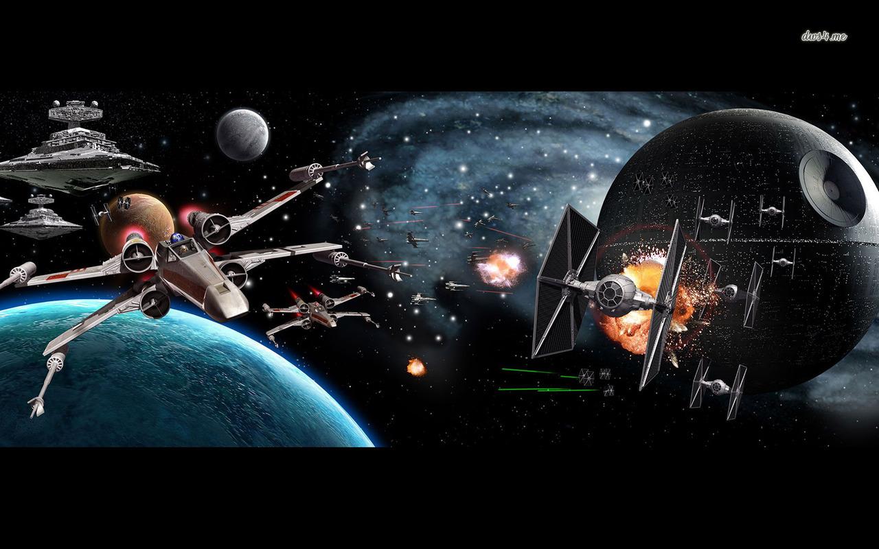 Star Wars Battle Backgrounds: Star Wars Battlefield Wallpaper