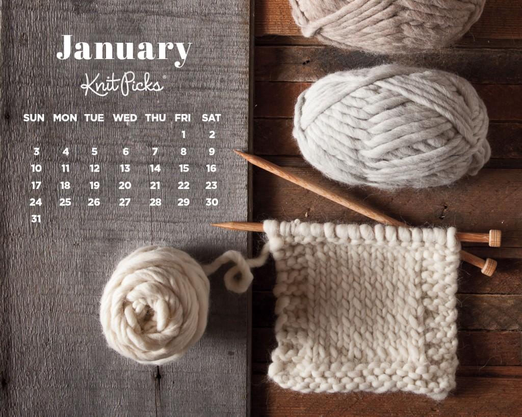 January 2016 Calendar   KnitPicks Staff Knitting Blog 1024x819