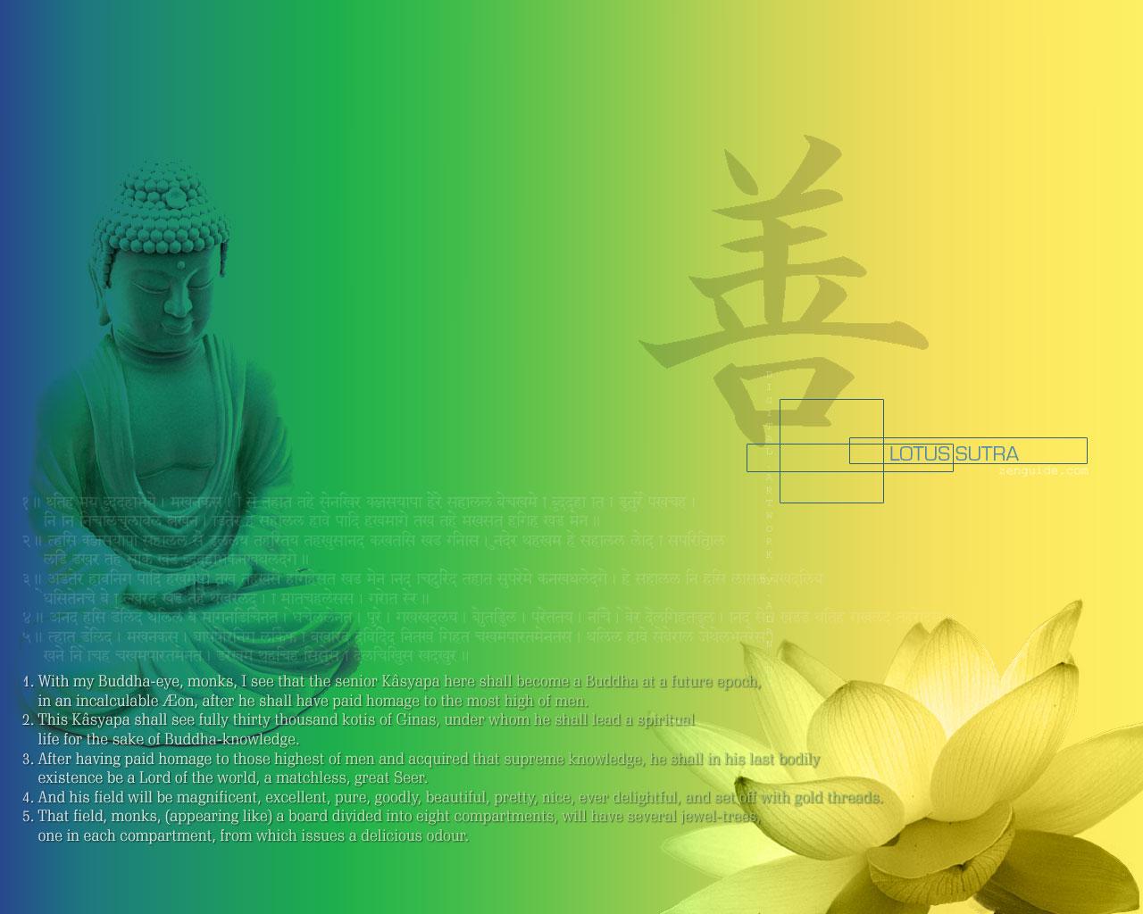 Buddhist wallpaper 1280x1024