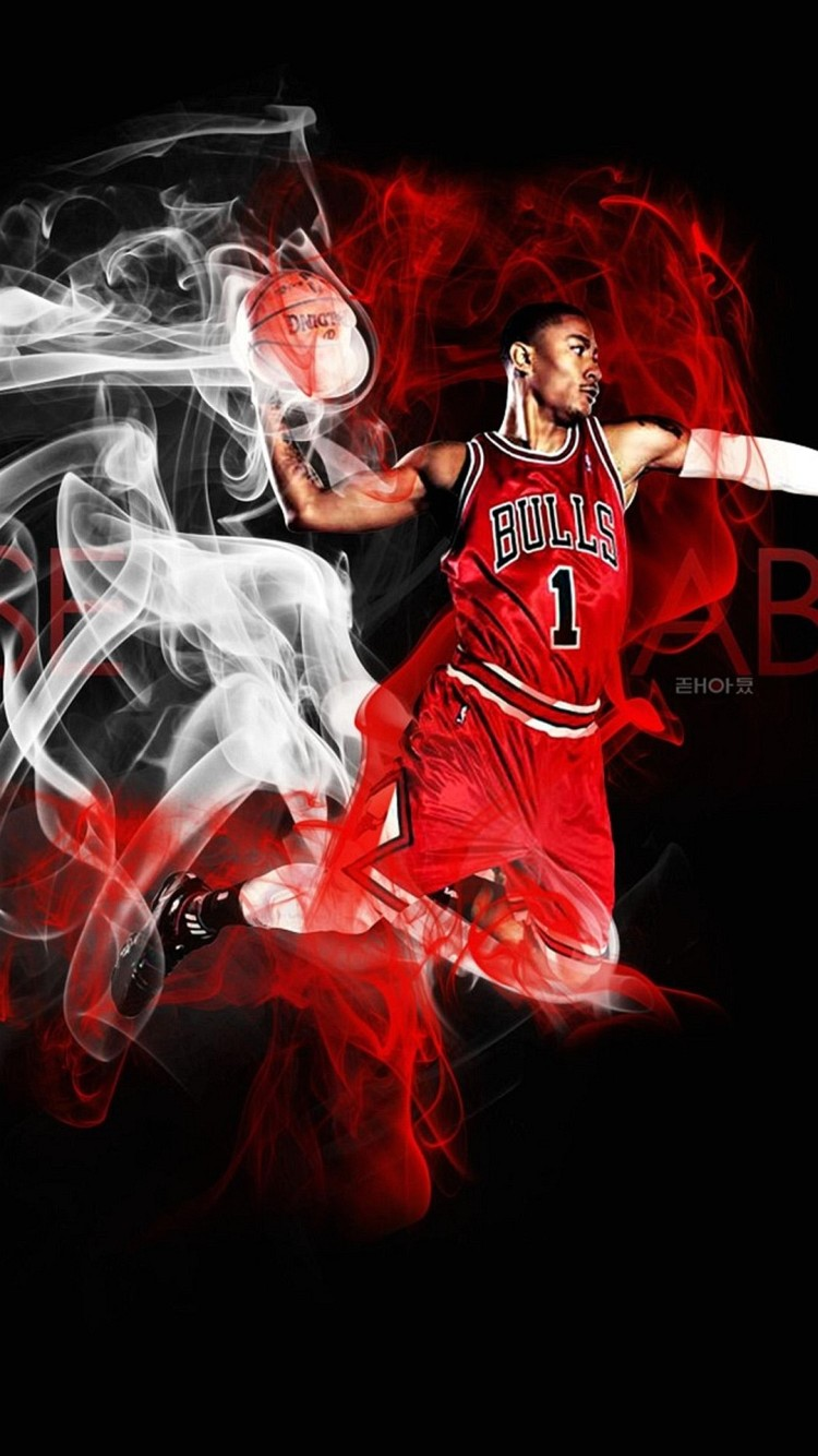 Wallpaper Iphone 6 Bulls Basket 4 7 Inches   750 x 1334   Iphone 6 750x1334