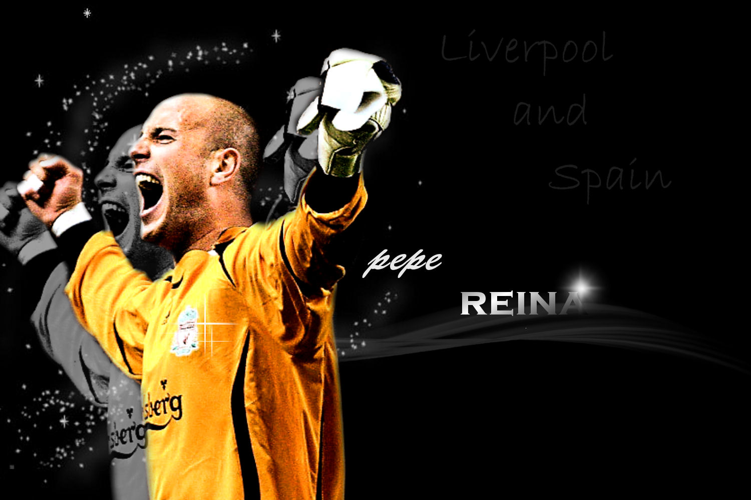 Pepe Reina Victory Wallpaper   Football HD Wallpapers 1500x1000