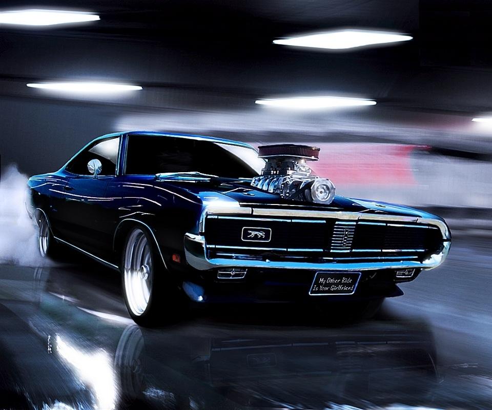 Muscle Cars Background Wallpaper Wallpapersafari