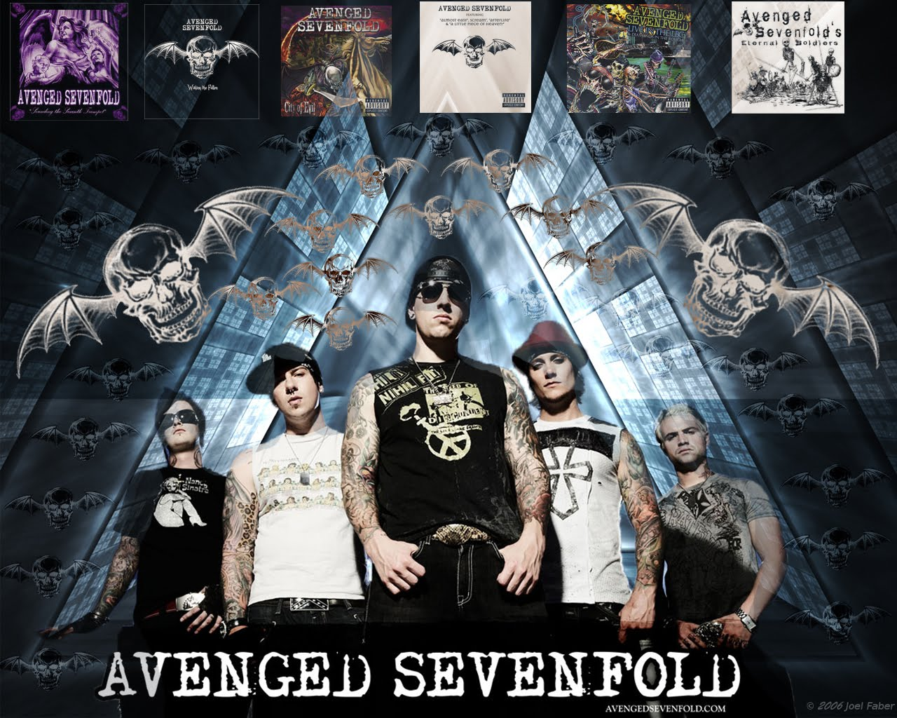 info A7X pengetahuan A7X personil black background 1280x1024