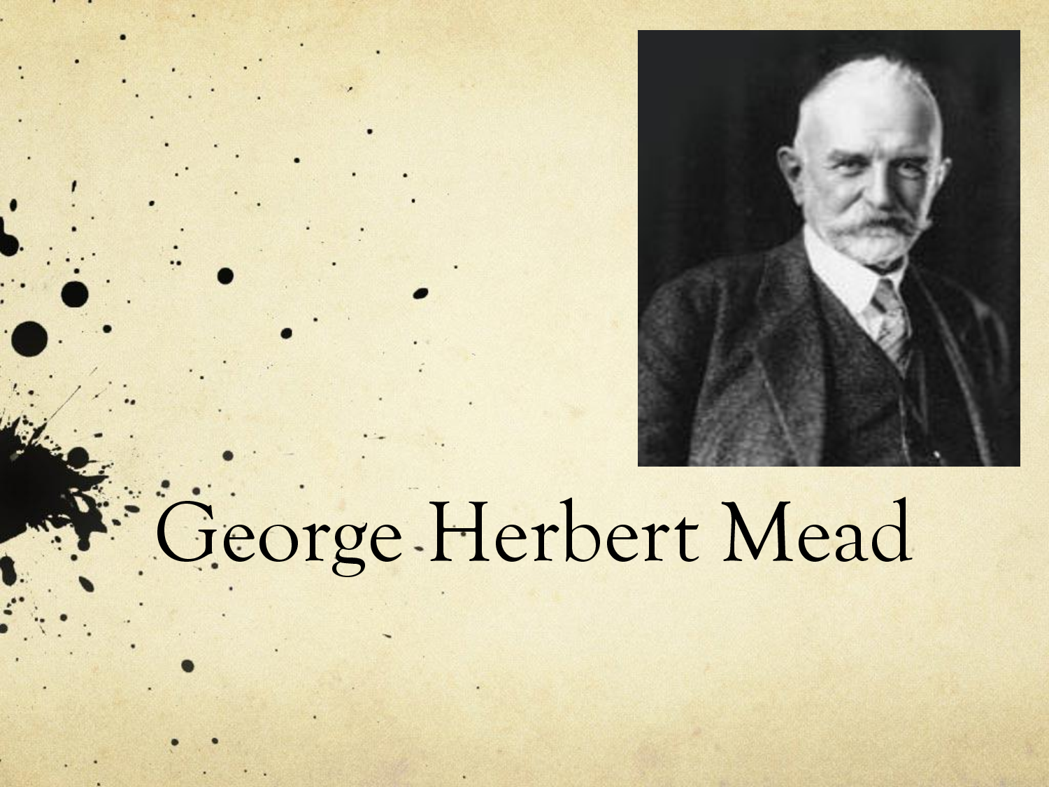 george herbert mead essay When a baby is first born, he doesn't seem to have a sense of who he is, but that changes as he grows in this lesson, we'll look at george herbert mead's research on how people develop a sense of self in the first few years of life.
